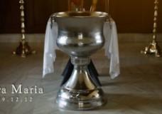AVA MARIA'S BAPTISM
