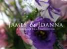 Joanna and James' wedding highlights
